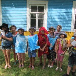 Besuch in Woronowo und Besichtigung des Sommerlagers, das wir zukünftig besonders fördern werden.