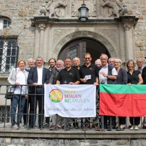 Empfang im Rathaus, gemeinsam mit Bethe-Stiftung