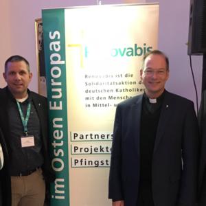 Renovabis-Jahrestreffen mit Pfarrer Dr. Christian Hartl.