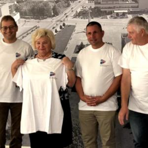 Marijampole: Bürgermeisterin bedankt sich für die langjährige Hilfe