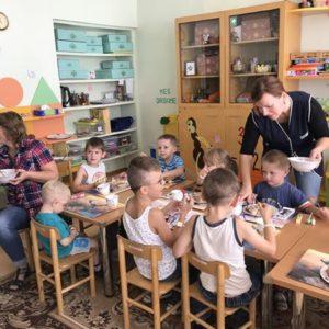 Marijampole - Besuch einer Schule mit behinderten Kindern