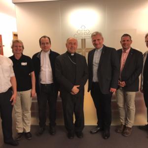 Köln-Besuch von Bischof Alexander aus Grodno