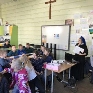 Grodno - Besuch einer kirchlichen Sozialeinrichtung