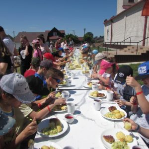 Sommerlager in Woronowo