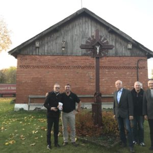 Bürgermeister und Pfarrer Arvydas Liepa